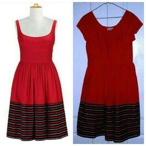 NEW retro 1950's style poplin dress