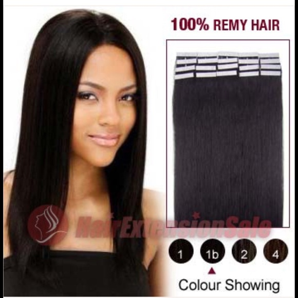 Hairextensionsale Accessories 2 Packs Tapein Hair Extensions In