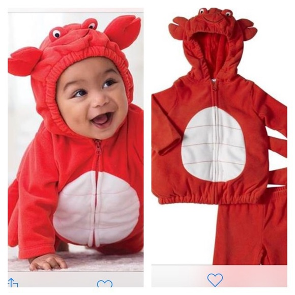 Baby toddler size 24 months carter crab costume  sc 1 st  Poshmark & carter Shirts u0026 Tops | Baby Toddler Size 24 Months Crab Costume ...