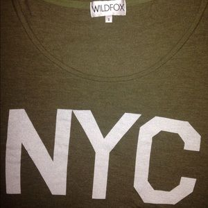 Small Wildfox NYC Top