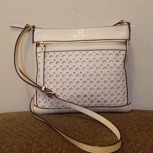 NWOT Cream Kate Spade Crossbody Bag