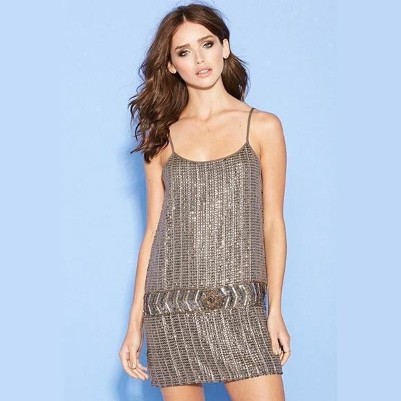 52% off Forever 21 Dresses & Skirts - Beaded Panel Sequin Dress ...