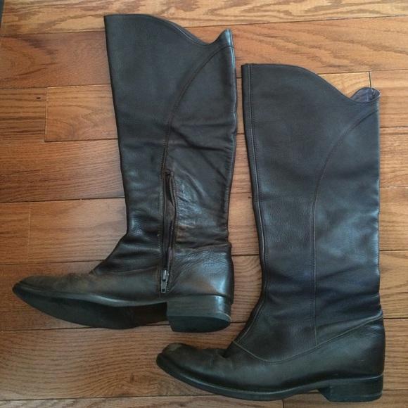 zara beautiful zara leather knee high boots from s