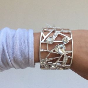 Kenneth Cole silver cuff bracelet