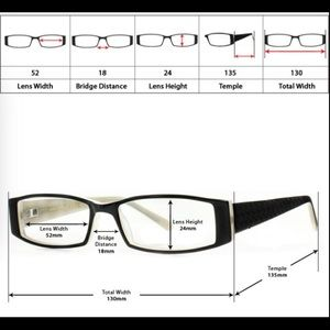 CHANEL Accessories - How to measure eyewear