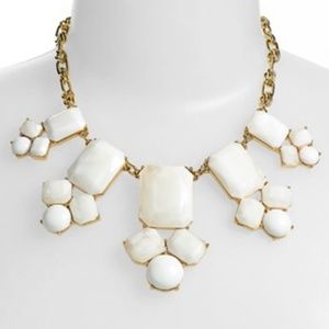 BROKEN kate spade statement bib necklace NWT
