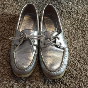 Sperry Top-Sider Shoes - Silver sperrys