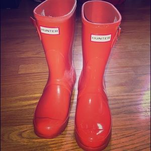 WOMEN CORAL HUNTER BOOTS