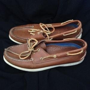 Sperry Top-Sider Shoes - Brown Leather Sperrys