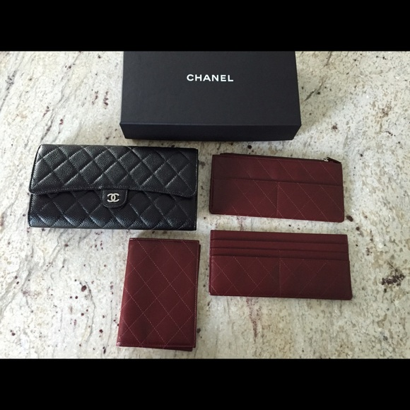 hermes travel wallet