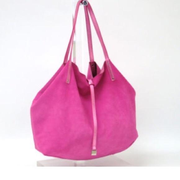 60% off Tiffany & Co. Handbags - Tiffany tote bag metallic pink ...