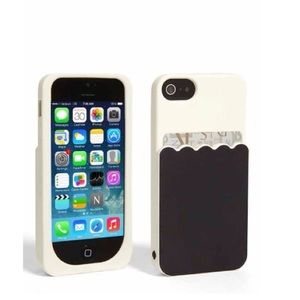 Kate Spade b&w scalloped pocket iPhone 5 case