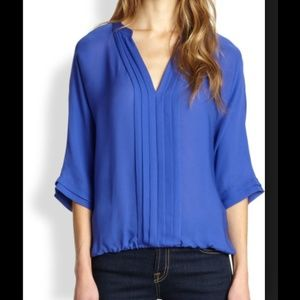 Joie Tops - 🚫SOLD🚫 JOIE Marru Silk Top in Neptune blue