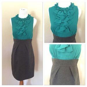 Max and Cleo turquoise/aqua dress