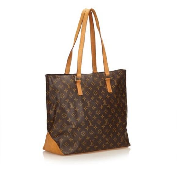 Louis Vuitton Handbags - AUTHENTIC LOUIS VUITTON TOTE CABAS MEZZO 86e82d79b2455
