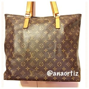AUTHENTIC LOUIS VUITTON TOTE CABAS MEZZO