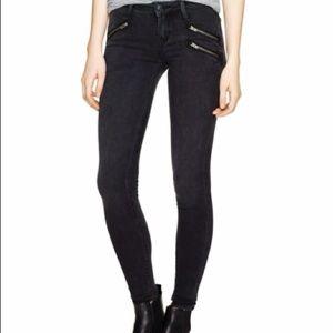 Aritzia Pants - Moto zip skinny jeans