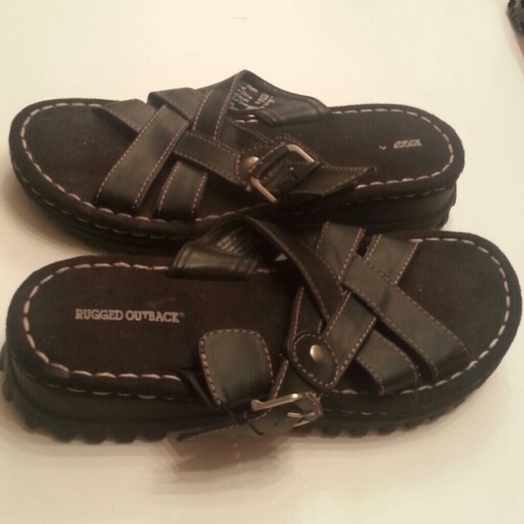 Innovative Mens Wetland Bumptoe Sandal  Rugged Outback  Payless Shoes