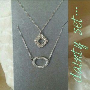 Oval Necklace Set