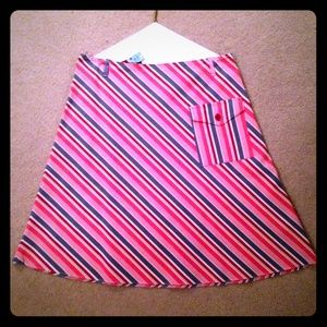 Necessary Objects Dresses & Skirts - Retro Inspired Striped A-Line Skirt