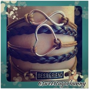 Jewelry - 🆕 Best Friend Cord Bracelet