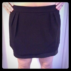 NWOT Express black skirt