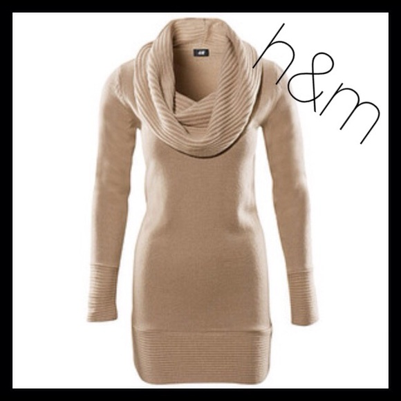 678c195eef4 H M Dresses   Skirts - H M Beige Sweater Dress