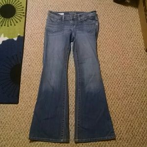 Decree jeans. Size 7 stretch flare