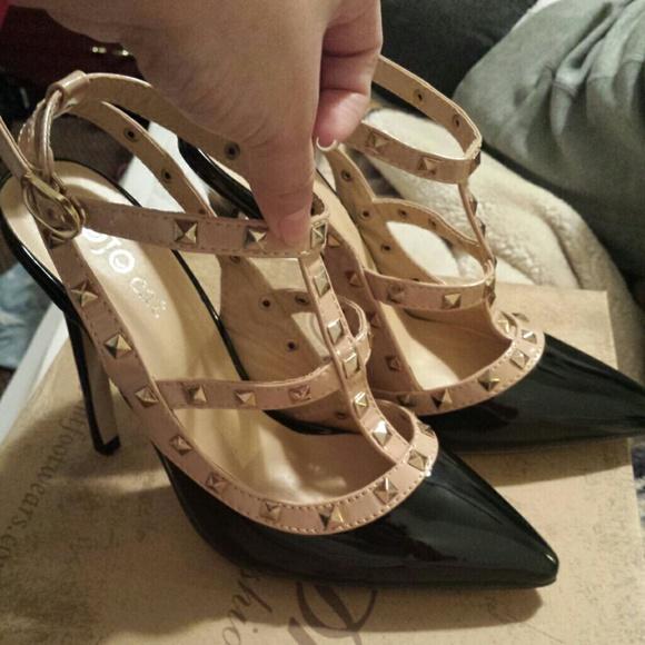 Studded Valentino Look Alike Heels