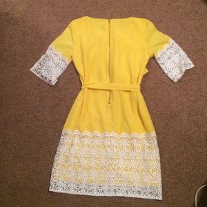 9197fdd0ad2 Gianni Bini Dresses - Gianni Bini Yellow Nancy Dress