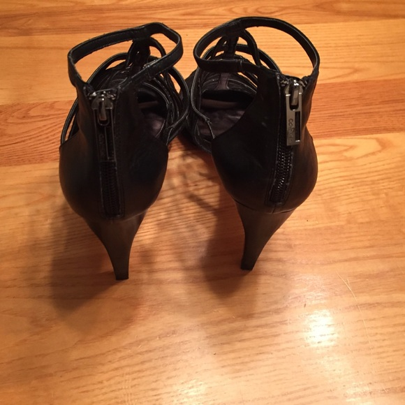 92 off calvin klein shoes calvin klein black suede shoes size 9 sale from lacey 39 s closet on. Black Bedroom Furniture Sets. Home Design Ideas