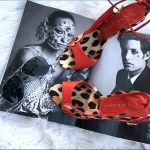 Casadei Shoes - Casadei leopard heels