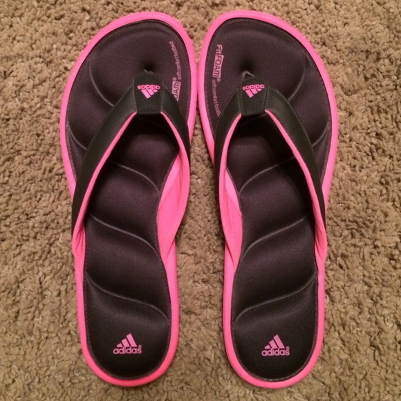 1b28947a239f52 Adidas Shoes - Adidas Fit Foam Flip Flops (Women s)