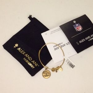 Alex and ani broncos bracelet