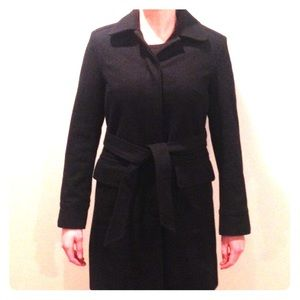 GAP Black Peacoat Small