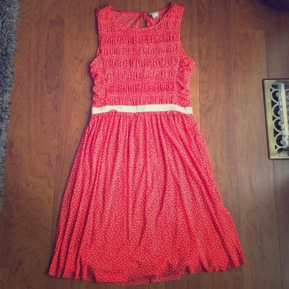 19286da21ff7 Anthropologie Dresses & Skirts - Anthropologie Postmark Swiss Dot Dress  size S