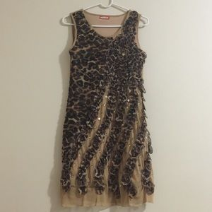 Animal prints dress