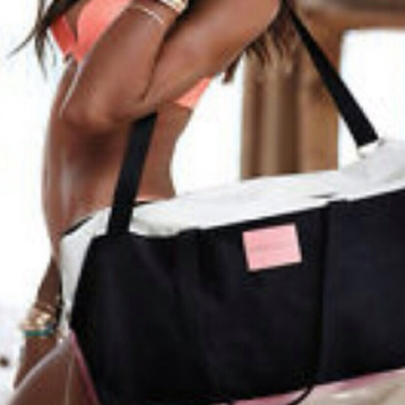 57% off PINK Victoria's Secret Handbags - Weekend getaway bag ...