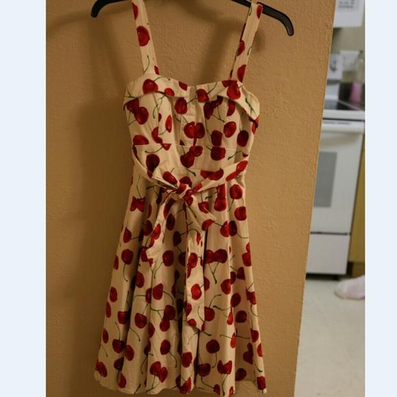 Pull Up a Cherry Dress