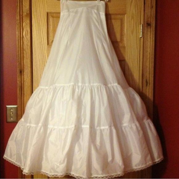 David's Bridal Dresses   Davids Bridal A Line Dress Slip   Poshmark