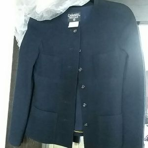 Authentic vintage chanel blazer.