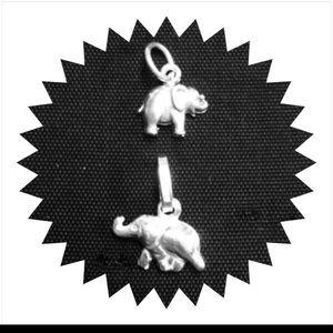 Jewelry - Mini Elephant Charms, .925