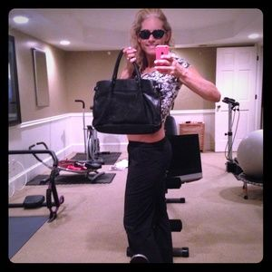 KENNETH COLE HANDBAG AND SUNGLASSES