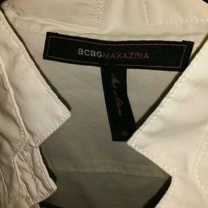 BCBGMaxAzria Tops - BCBGMAXAZRIA White Long Sleeve Dress Shirt