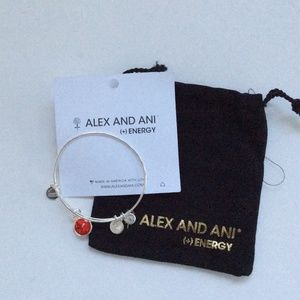 Alex and ani ruby July bracelet