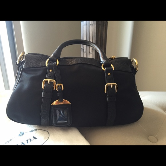 Prada - Authentic PRADA black nylon and leather bag . from Zara\u0026#39;s ...