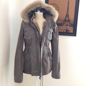 40cee3386cc3b0 La Rok Jackets   Coats - La Rok rabbit fur winter coat