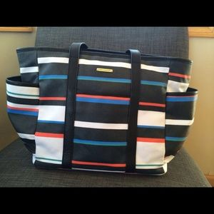Rebecca Minkoff Handbags - 100% Authentic Multicolor Marissa Baby Bag -Stripe