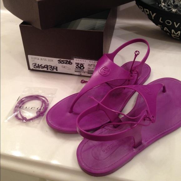 b278e02a3a9c Gucci Shoes - Purple Gucci sandals
