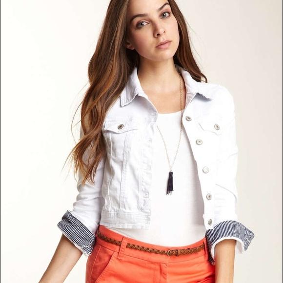 e690d62f4 Tommy Girl White Denim Jacket